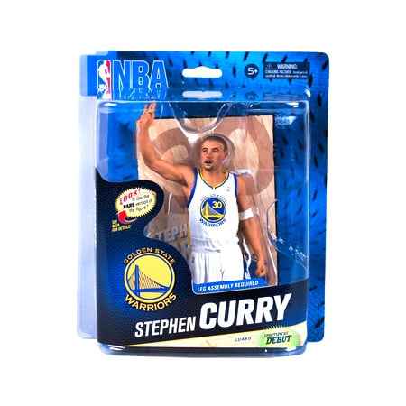 check out a4f80 c5011 McFarlane NBA Sports Picks Series 24 Stephen Curry Action Figure [White  Jersey]