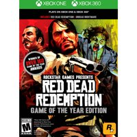 Red Dead Redemption: Game of the Year Edition, Rockstar Games, Xbox One/360, 710425490071