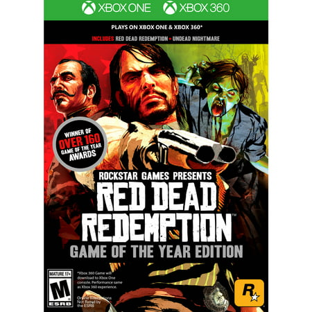 Red Dead Redemption: Game of the Year Edition, Rockstar Games, Xbox One/360, (Red Dead Redemption Best Pistol)