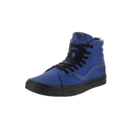 19405dc44349 vans unisex sk8-hi reissue (black outsole) true blue black skate shoe 10 men  us 11.5 women us