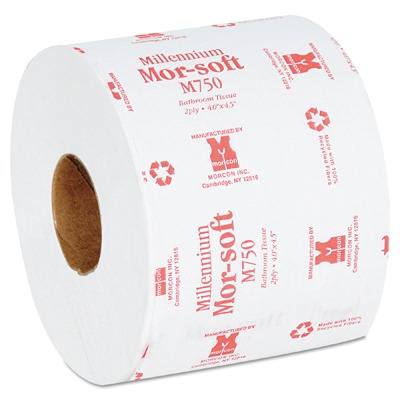 Morsoft Millennium Bath Tissue, 2-ply, Individually Wrapped, 750/roll MORM750