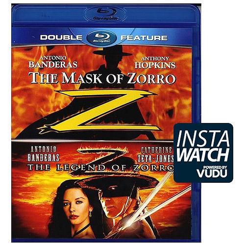 The Mask Of Zorro / The Legend Of Zorro (Blu-ray)