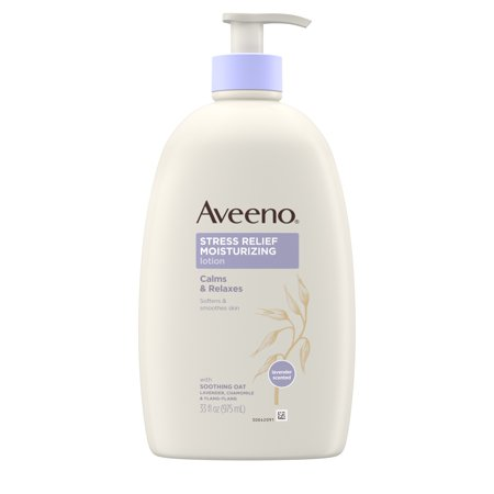 Aveeno Stress Relief Moisturizing Lotion to Calm & Relax, 33 fl.