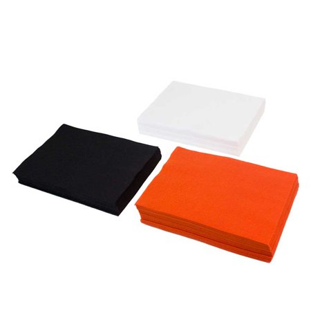 High Quality Acrylic Felt Halloween Theme: 75 Sheet Value Pack - Halloween Themed Arts And Crafts