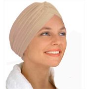 CoverYourHair 50084 Beige Turban