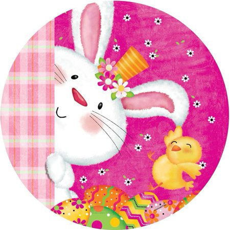 Custom Decor Accent Magnet - Bunny and Chick