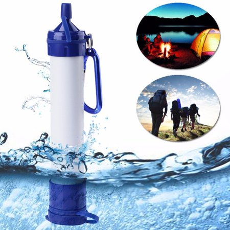 Water Straw - Personal Portable Water Filter Straw for Outside Hiking, Camping, Travel, and Emergency Preparedness