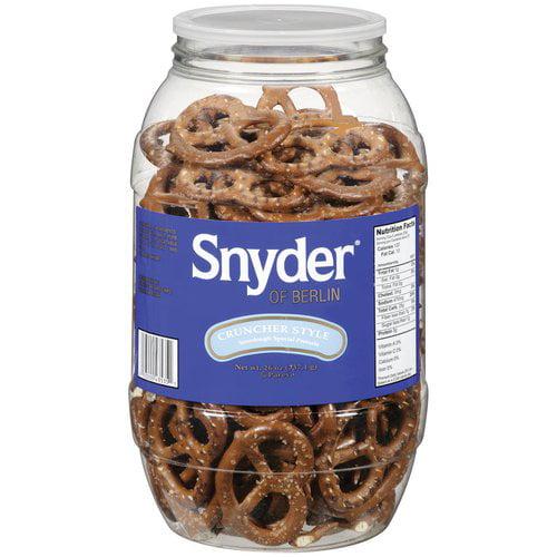 Snyder of Berlin Cruncher Style Sourdough Special Pretzels, 26 oz