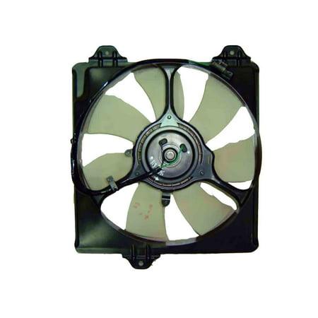 CPP Front Radiator Cooling Fan  for 01-05 Toyota RAV4 (Toyota Rav4 Radiator Cooling Fan)
