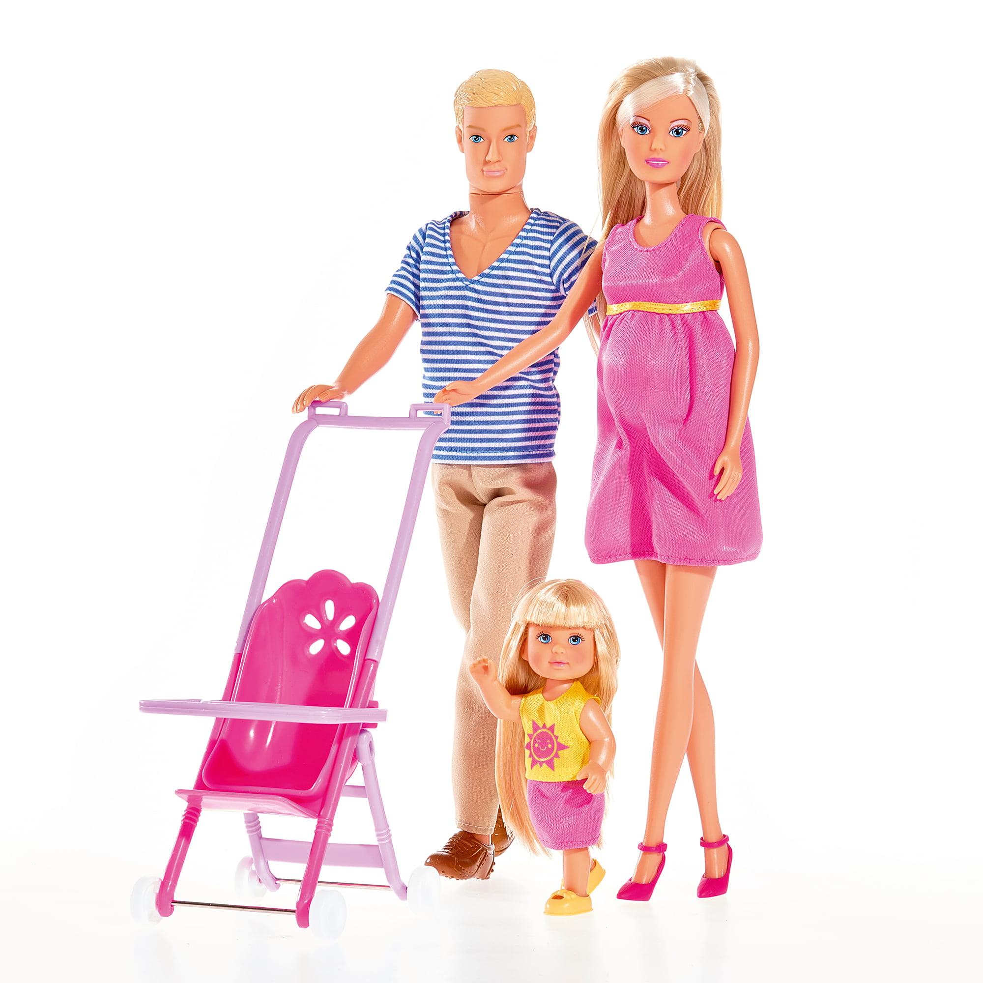 Steffi Love Family Box of 4 Dolls Simba Toys