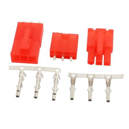 20 Sets 4.2mm connect simple rangée + 3P Prise en-tête logement Coque male - image 1 de 2