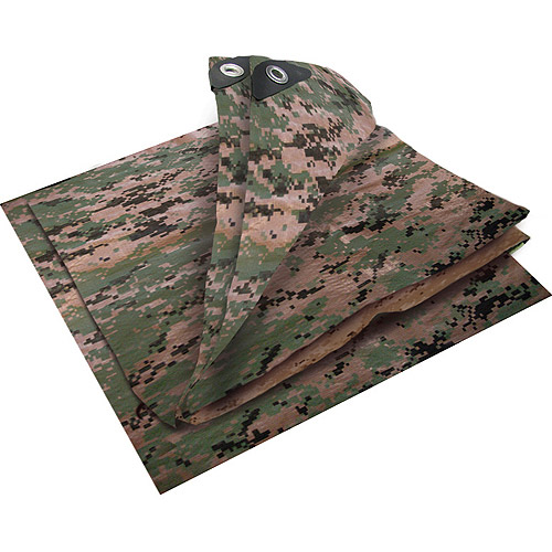 Digital Camo Tarp, 12' x 16', Woodland