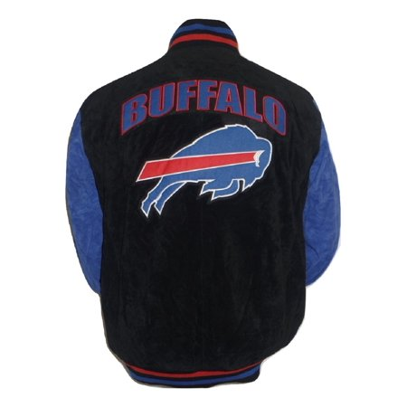 Buffalo Bills Men's Two Tone Suede Jacket