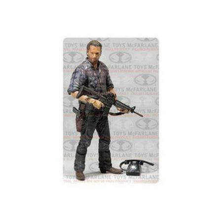 Assault Series Case (Mcf-the Walking Dead Tv Series 7.5 Woodbury Assault Rick Grimes[5 Inch Fig] (TMP International)