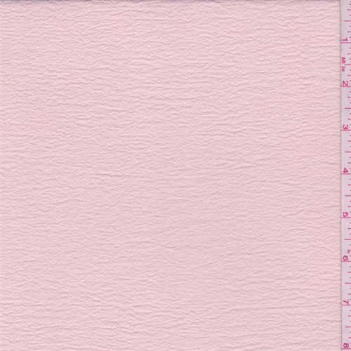 Peach Polyester Gauze, Fabric By the Yard