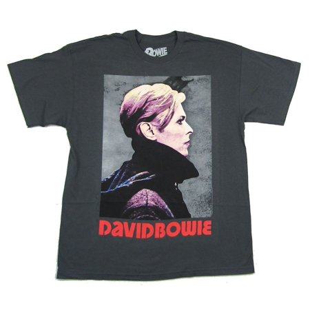 David Bowie Low Cover Grey T Shirt