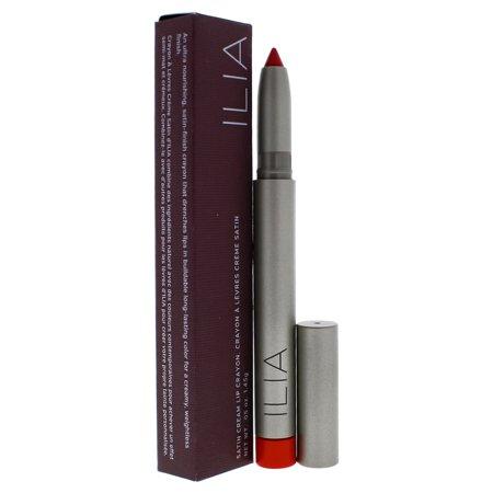 Satin Cream Lip Crayon - Push It by ILIA Beauty for Women - 0.05 oz (Bite Beauty Matte Creme Lip Crayon Peche)