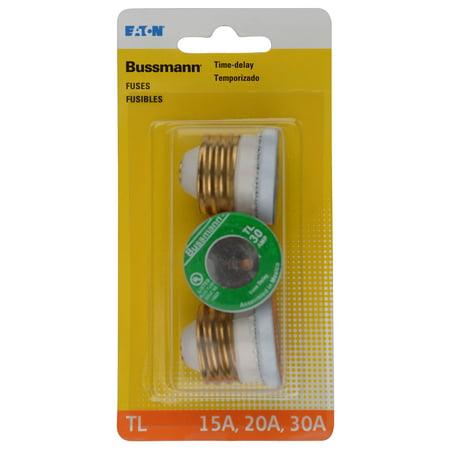 Bussman Tl Plug Fuse Asst 15/20/30