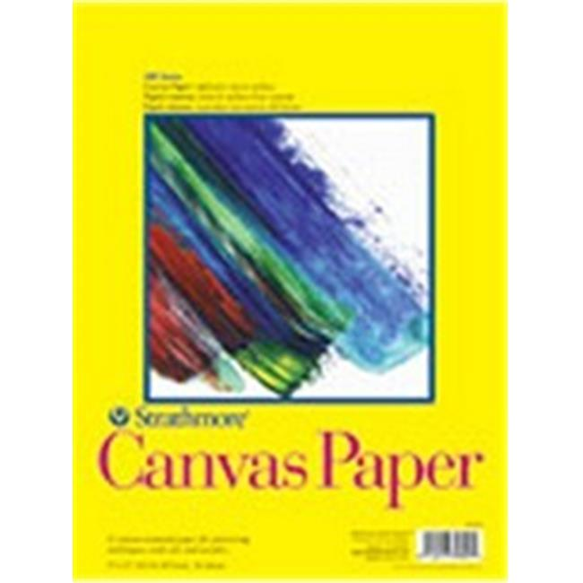 Strathmore 310-12 310 Canvas Paper Pads, 12 X 16 In.
