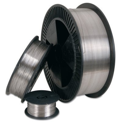 ER308L Stainless Steel Welding Wire, 1/8 in Dia., 36 1/2 in Long, 10 lb Carton ()