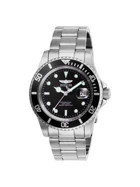 Invicta Men's 26970 Pro Diver Quartz 3 Hand Black Dial Watch