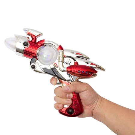 (AT763 LED Space Flash Toy Gun, Light Up Space Gun, LED Space Gun, Flashing Toy Gun, Glowing Space Gun, Space Toy Gun Kids- Colors may vary, SIZE:.., By Fun Central - Guns In Space