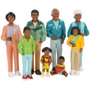 African American Doll Family 8Pcs