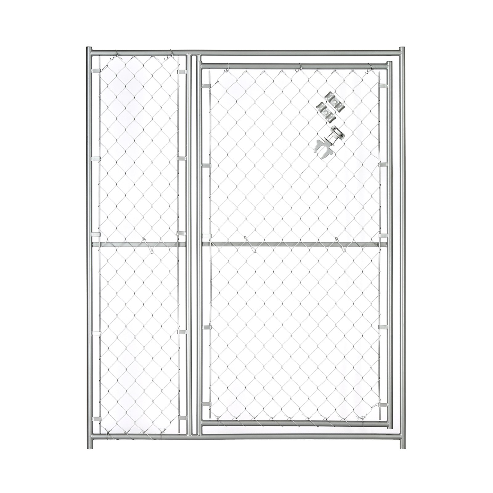 Lucky Dog 5W x 6H ft. Chain Link Modular Gate - 36 in. Op...
