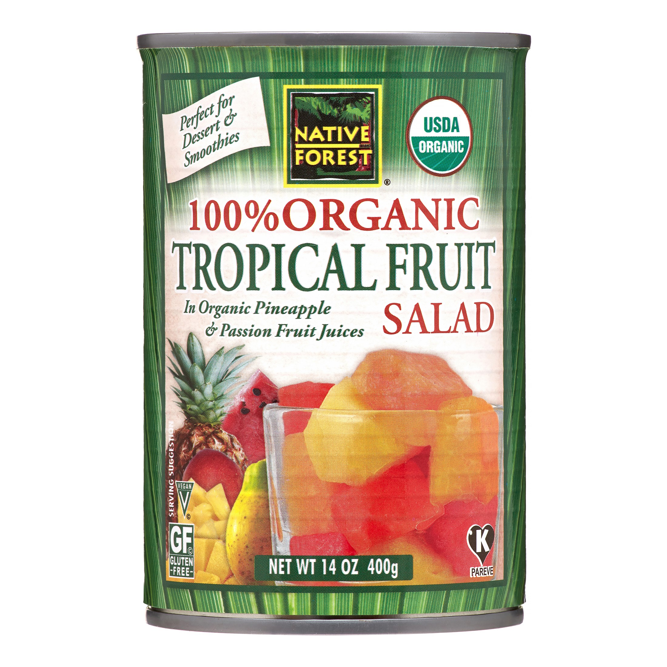 Native Forest Organic Tropical Fruit Salad, 14 Oz