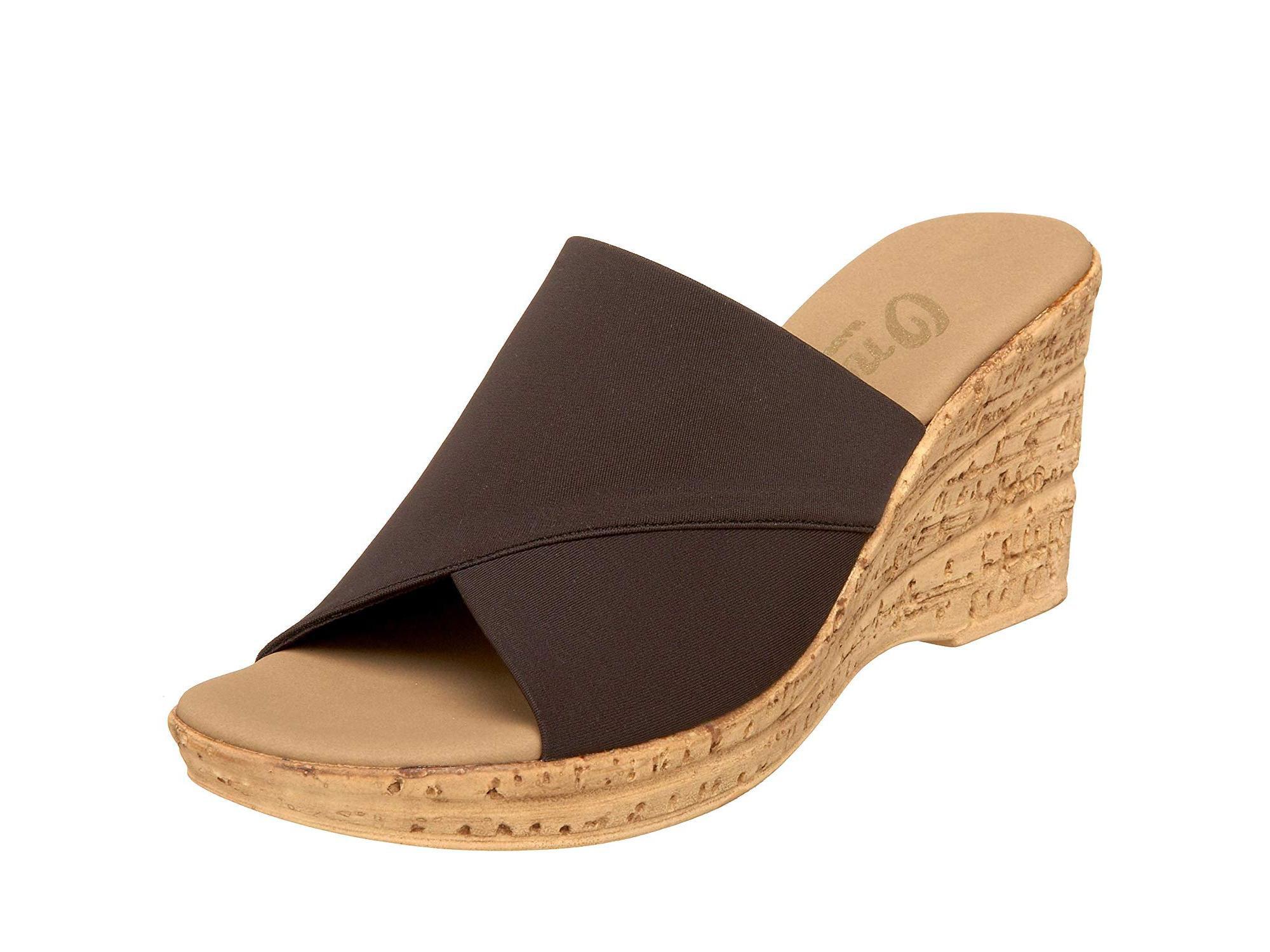 55af51acc2 Onex Womens Christina Open Toe Casual Platform Sandals ...