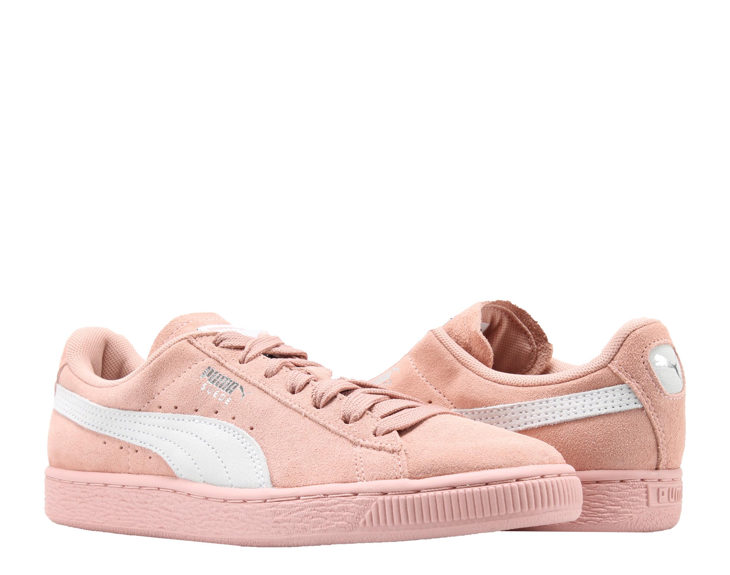 Puma Suede Classic Pink Peach Beige-White Women's Sneakers 35546267