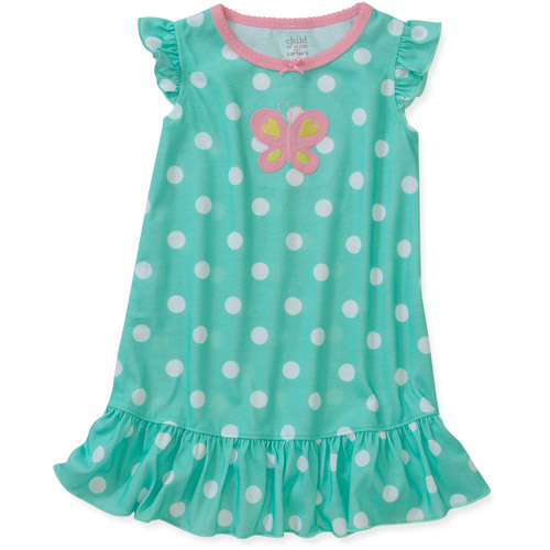 Child of Mine by Carters Toddler Girl Printed Nightgown