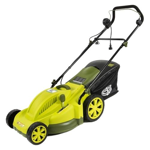 Sun Joe MJ403E Mow Joe 13-Amp Corded Electric Lawn Mower, 17""