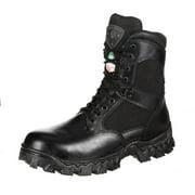 "Rocky Work Boots Mens 8""Alphaforce Waterproof CT Black FQ0006269"