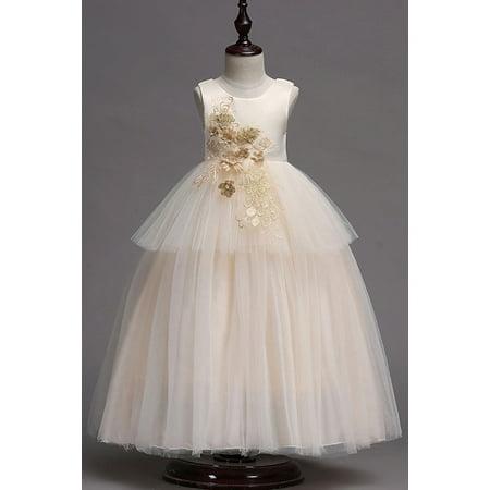 Kids Baby Girls Fancy Skirt Sleeveless Fluffy Dress](Fluffy Girls)