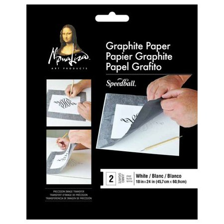 SPEEDBALL ART PRODUCTS 0010746 JUMBO WHITE GRAPHITE PAPER (Graphite Paper)
