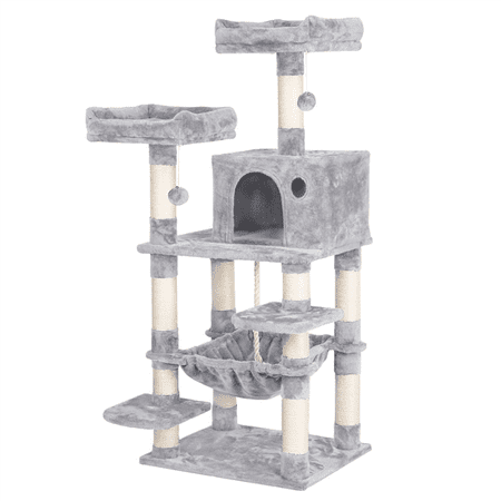 58 Luxurious Multi Level Cat Tree Condo for Kittens Pet House Play