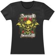 Avenged Sevenfold  Skeleton Scream Girls Jr Black