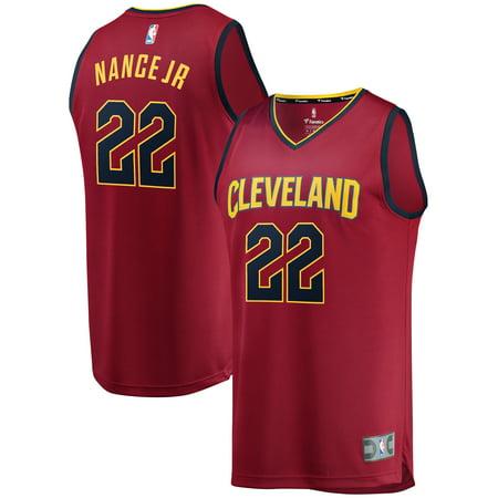 Larry Nance Jr. Cleveland Cavaliers Fanatics Branded Maroon Fast Break Player Jersey - Icon (Cleveland Cavaliers Away Jersey)