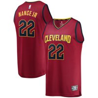 low priced 48348 343e7 Product Image Larry Nance Jr. Cleveland Cavaliers Fanatics Branded Maroon  Fast Break Player Jersey - Icon Edition