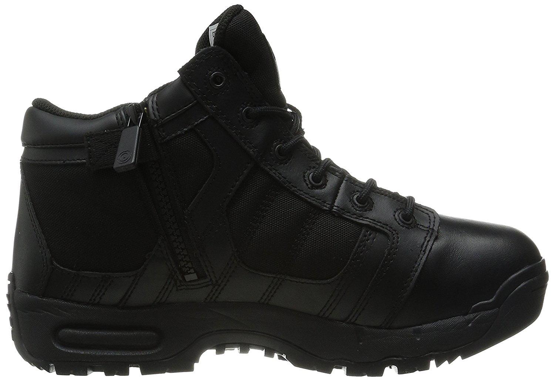 "Original Swat Metro Air 5"" WP Side-Zip Women's Tactical Boots Black 125411 10.5"