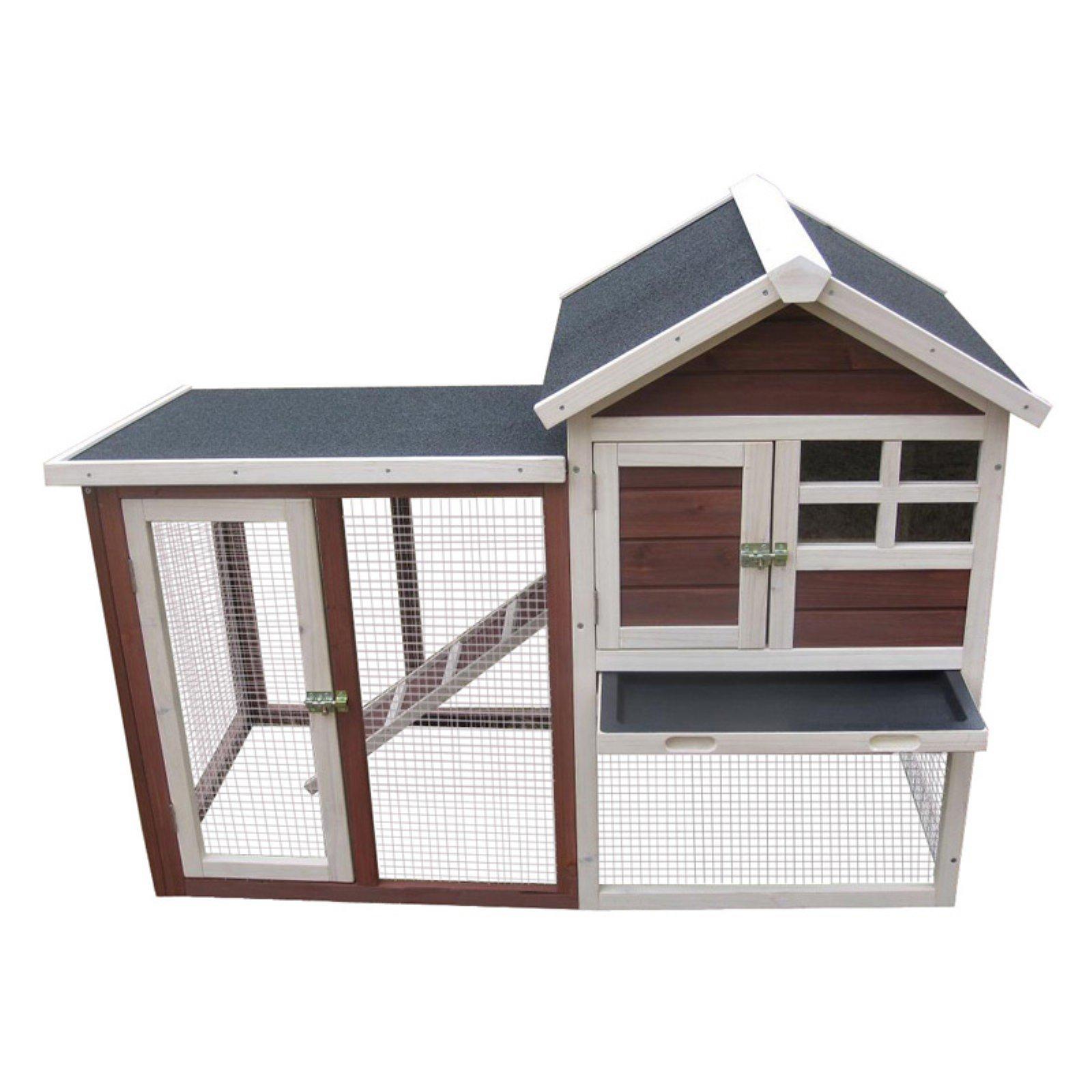 Advantek Stilt House Auburn Rabbit Hutch
