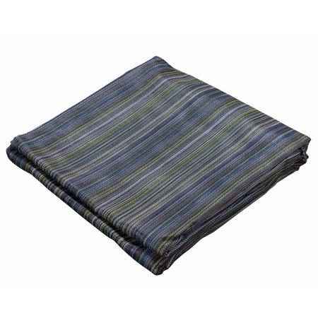 10'x16' 10oz Multi Mesh Tarp PVC Coated Poly Shade ROLL-OFF (Cinnamon Roll Tart)