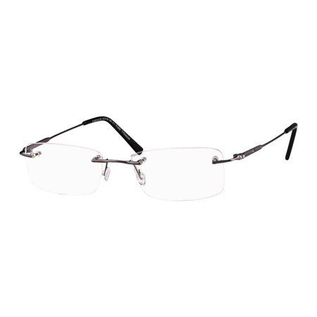 Naturally Rimless Sophisticated Eyeglasses Size 54-19-140 Rimless -