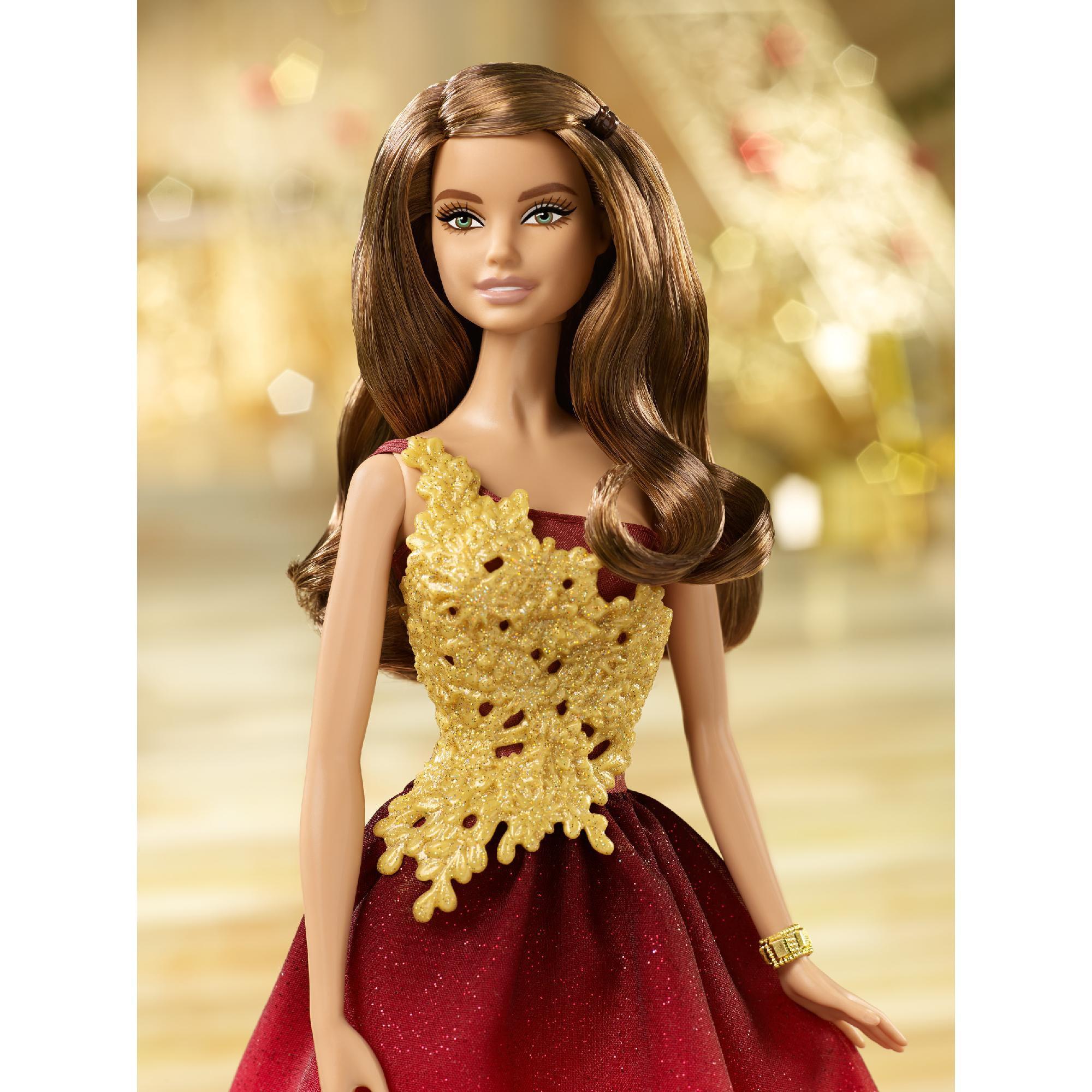 2017 Holiday Barbie Doll Latina Teresa Collectible Christmas
