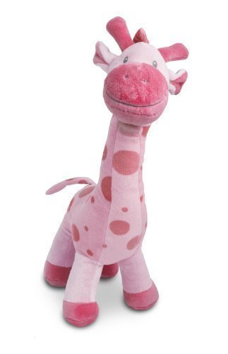 "Beverly Hills Teddy Bear Company Stuffed Giraffe in Pink, 15"" by Beverly Hills Teddy Bear Co."