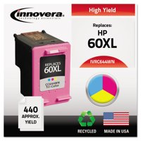 Innovera Remanufactured CC644WN (60XL) High-Yield Ink, Tri-Color