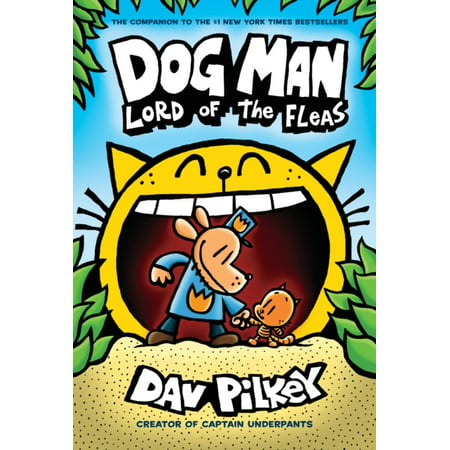 Dog Man 5: Lord of the Fleas (Lord Of The Rings One Volume Hardcover)
