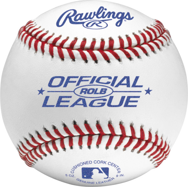 Rawlings ROLB Official League Tournament Grade Baseballs (Dozen)