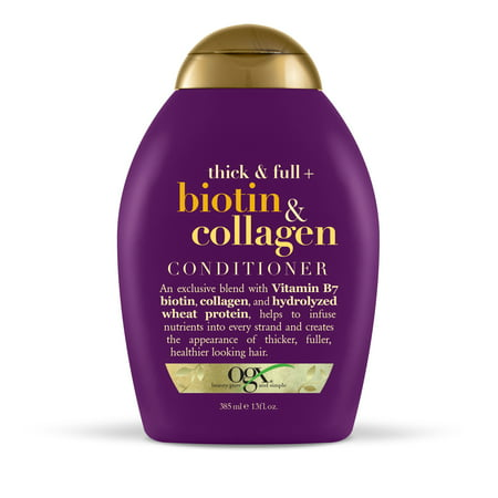 OGX Thick & Full + Biotin & Collagen Conditioner, 13 fl